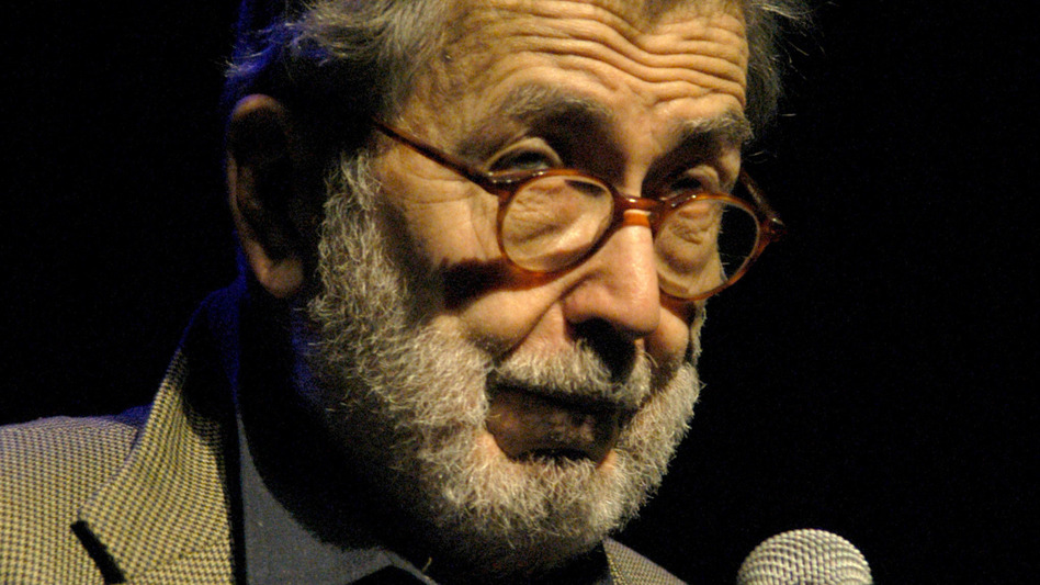 """Nat Hentoff during the annual """"A Great Night in Harlem"""" Benefit Concert at The Apollo Theater in New York City. (Stephen Lovekin/FilmMagic via Getty Images)"""