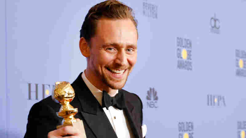 Tom Hiddleston At Golden Globes: Maybe Not The Best Charity Spokesman