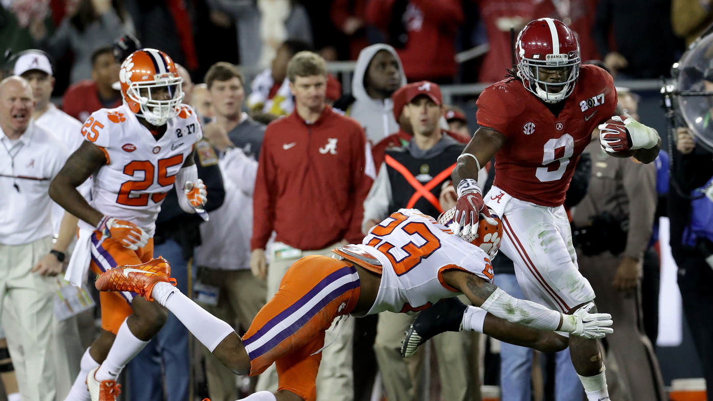 a9a9f9f69ca Clemson-Alabama Title Game: Tigers Take It At The Last Second : The ...