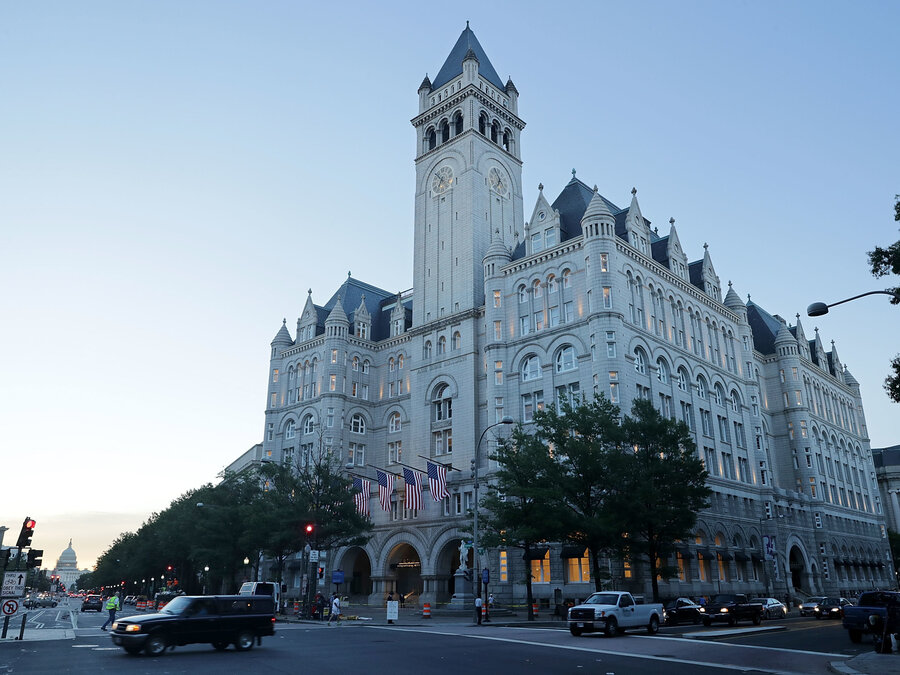 Trump D C Hotel Contractors Say They Re Owed Millions