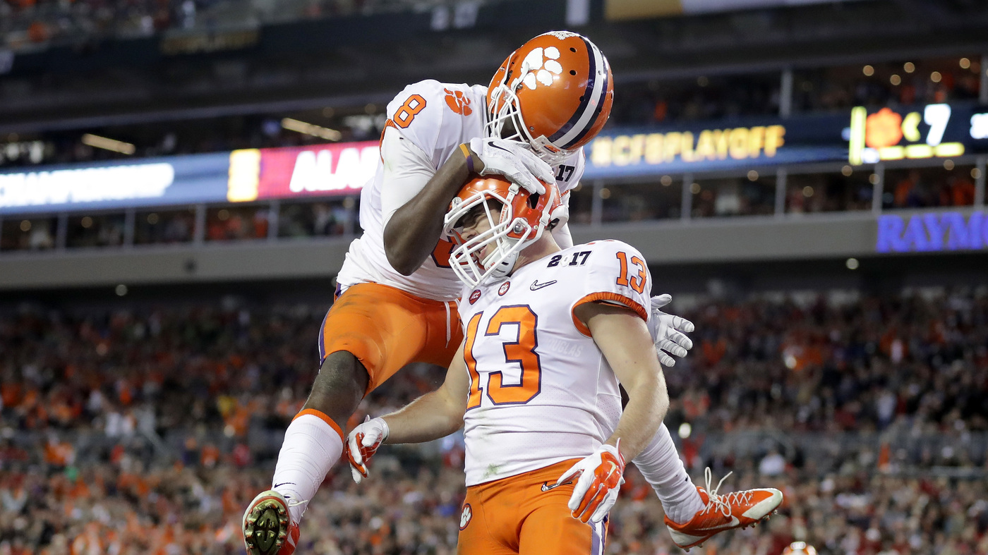 Clemson-Alabama Title Game  Tigers Take It At The Last Second   The ... 1503b30ea