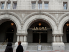 The recently opened Trump International Hotel on Pennsylvania Avenue in Washington, D.C., is one of many properties that would lose the Trump name if the president-elect followed the advice of the Office of Government Ethics and divested his business holdings.
