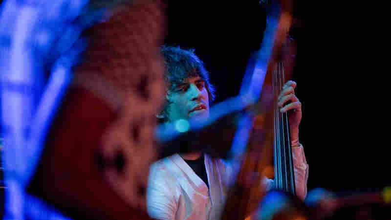 Bassist Ariel Zomonsky performs with Shabaka & The Ancestors.