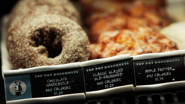 Most restaurants are required to post calorie counts on menus as a result of the Affordable Care Act. The question is whether they help you resist that doughnut.