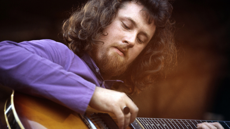 Folk guitarist John Renbourn is one of the artists you'll hear in <em>World Cafe</em>'s British folk-rock playlist.