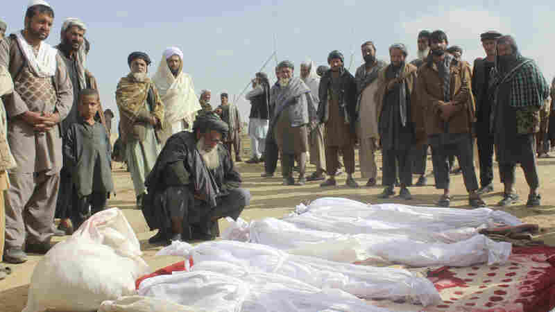 U.S. Forces 'Acted In Self-Defense' In Battle That Killed 33 Civilians In Afghanistan