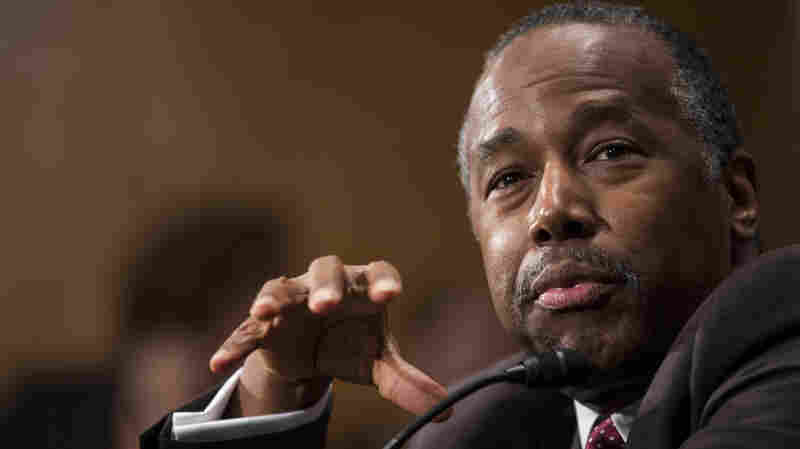 Carson, Trump's Pick For Housing Agency, Won't Rule Out Grants To Trump Properties
