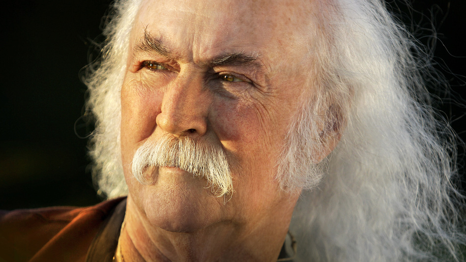 David Crosby returns to <em>World Cafe</em> at age 75.