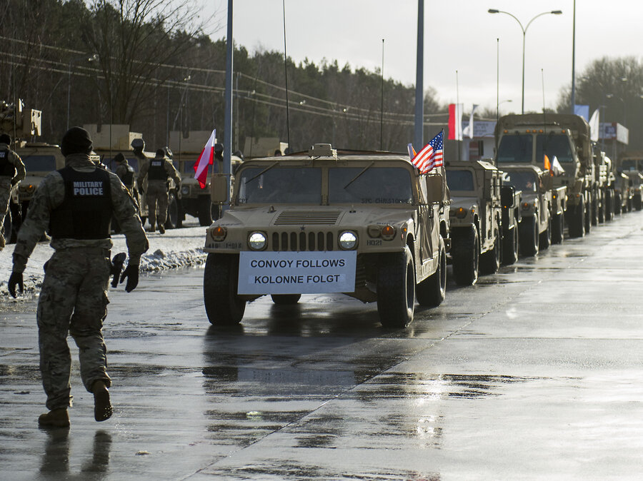 US Troops Arrive In Poland But Will Trump Keep Them There - Us troops near russia map