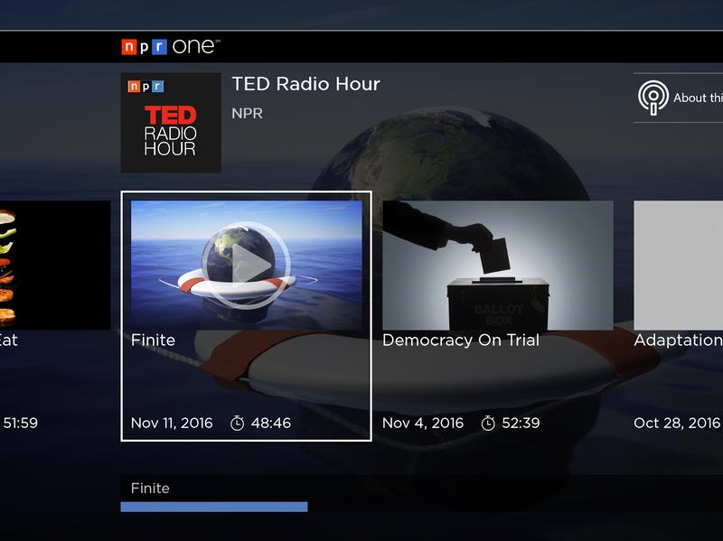 NPR One on Xbox One.