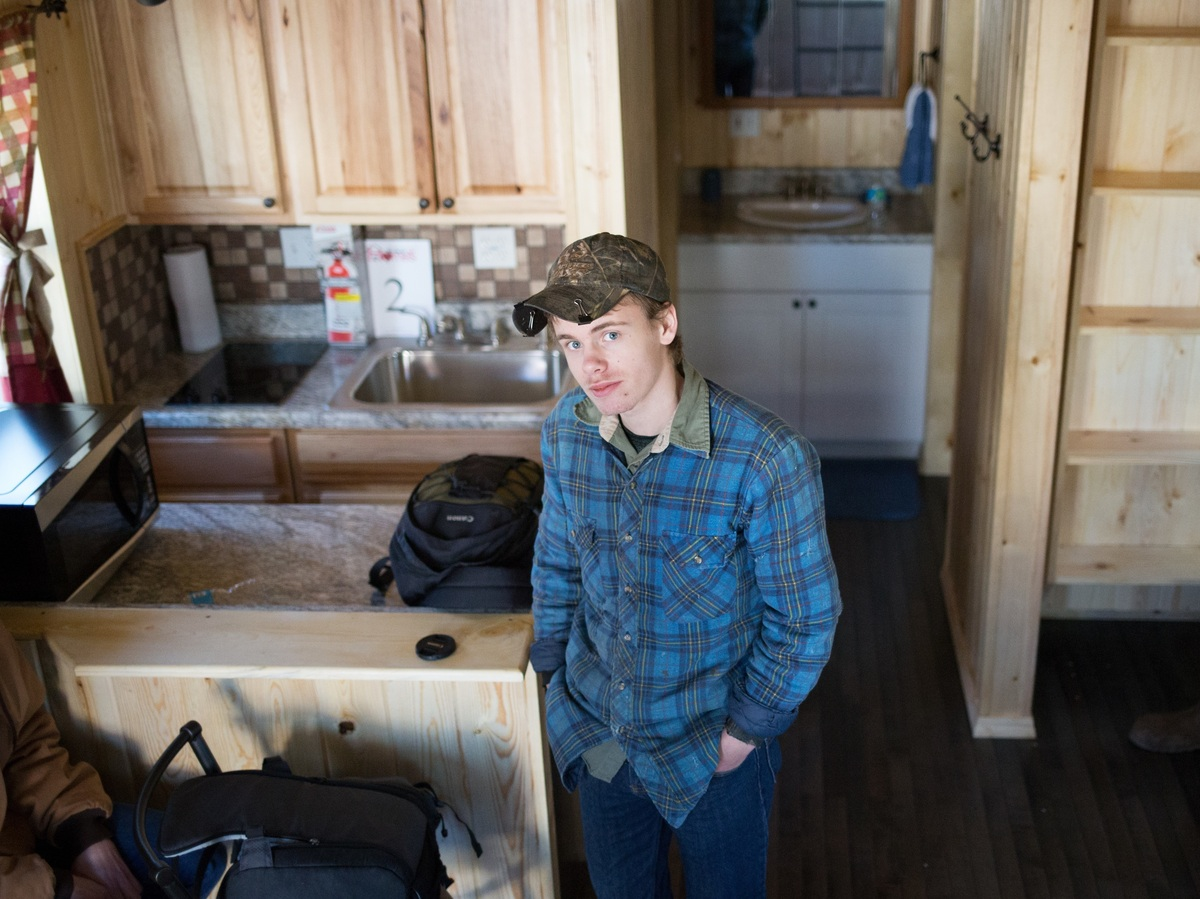 Tiny houses built by high school students for west for Home builders west virginia