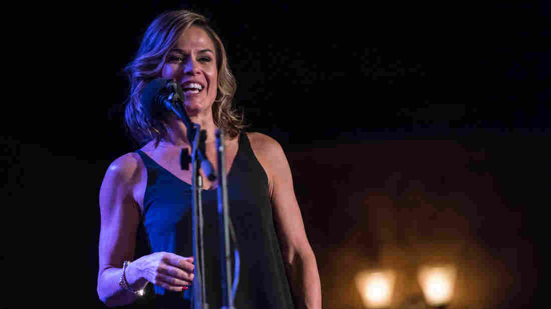 Cat Cora on Ask Me Another