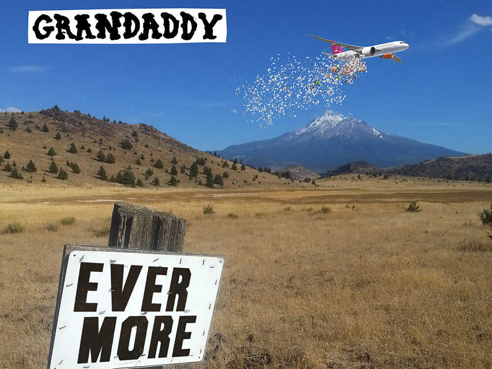 """Cover art for the Grandaddy single """"Evermore."""""""