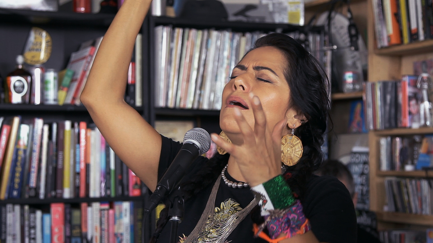 Lila Downs Tiny Desk Concert Npr