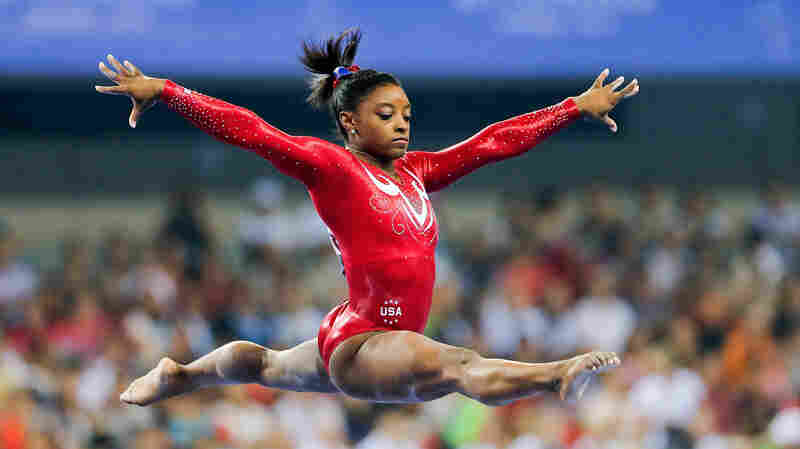 Not My Job: We Quiz Gymnast Simone Biles On The History Of The iPhone