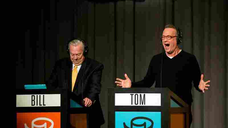 Tom Hanks fills in for Peter Sagal as host of NPR's news quiz, Wait Wait... Don't Tell Me!