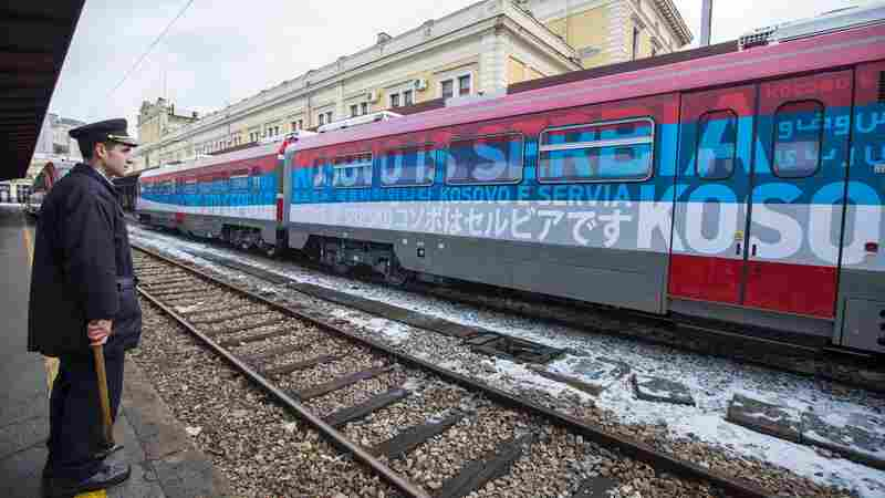Sparks On The Tracks: Kosovo, Serbia Spar Over Train Stopped At The Border