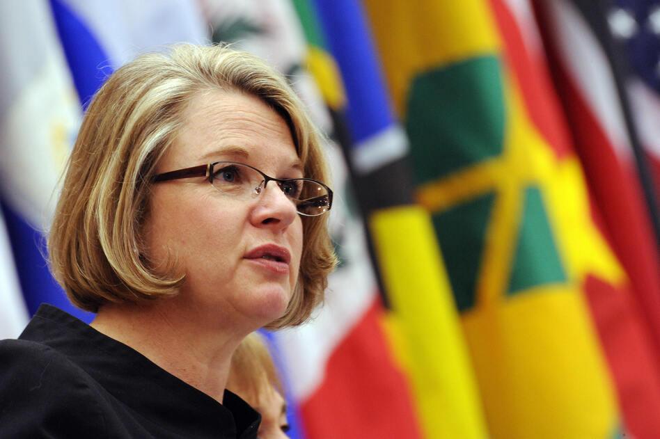 Margaret Spellings was the U.S. education secretary under George W. Bush from 2005-2009. (Tim Sloan/AFP/Getty Images)