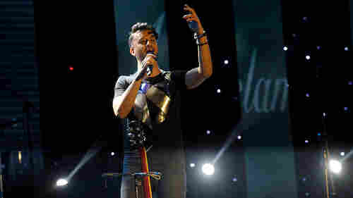 Pakistani Pop Star Halts Show To Save Female Fan From Alleged Harassment