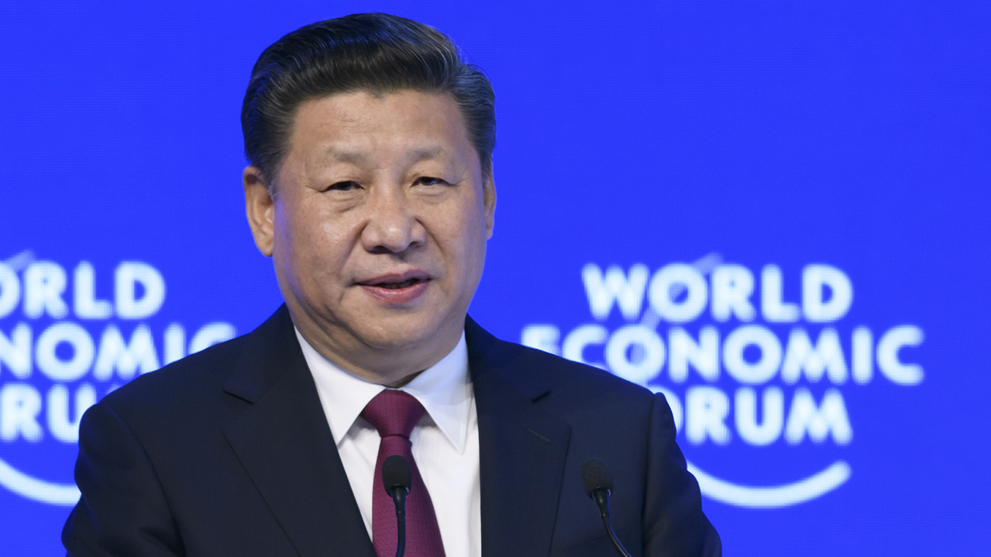 China s xi jinping defends globalization in first ever speech at davos the two way npr
