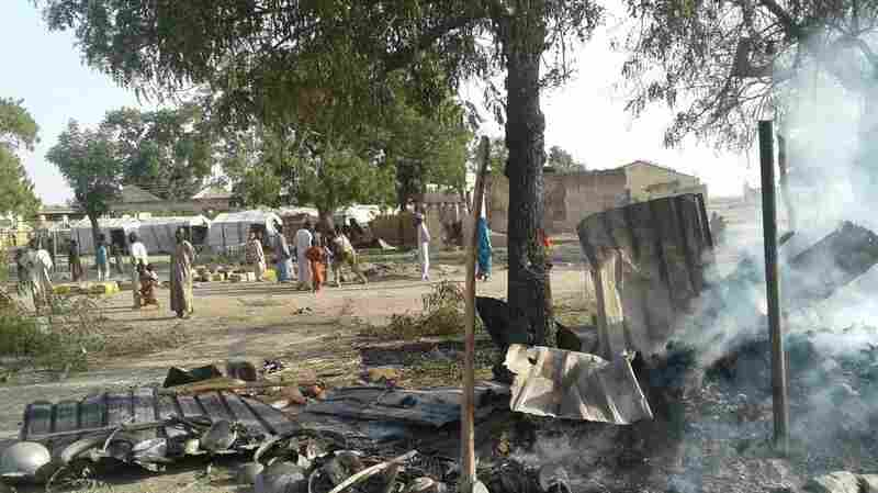 Nigerian Military Strike Kills Dozens In Displaced Persons Camp