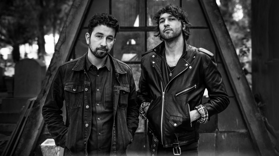 Japandroids' new album, Near To The Wild Heart Of Life, comes out January 27. (Courtesy of the artist)