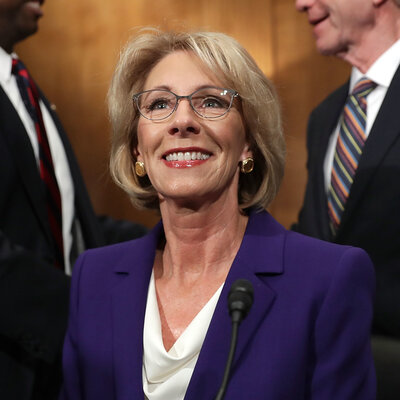 School Vouchers, Oligarchy And Grizzlies: Highlights From The DeVos Hearing