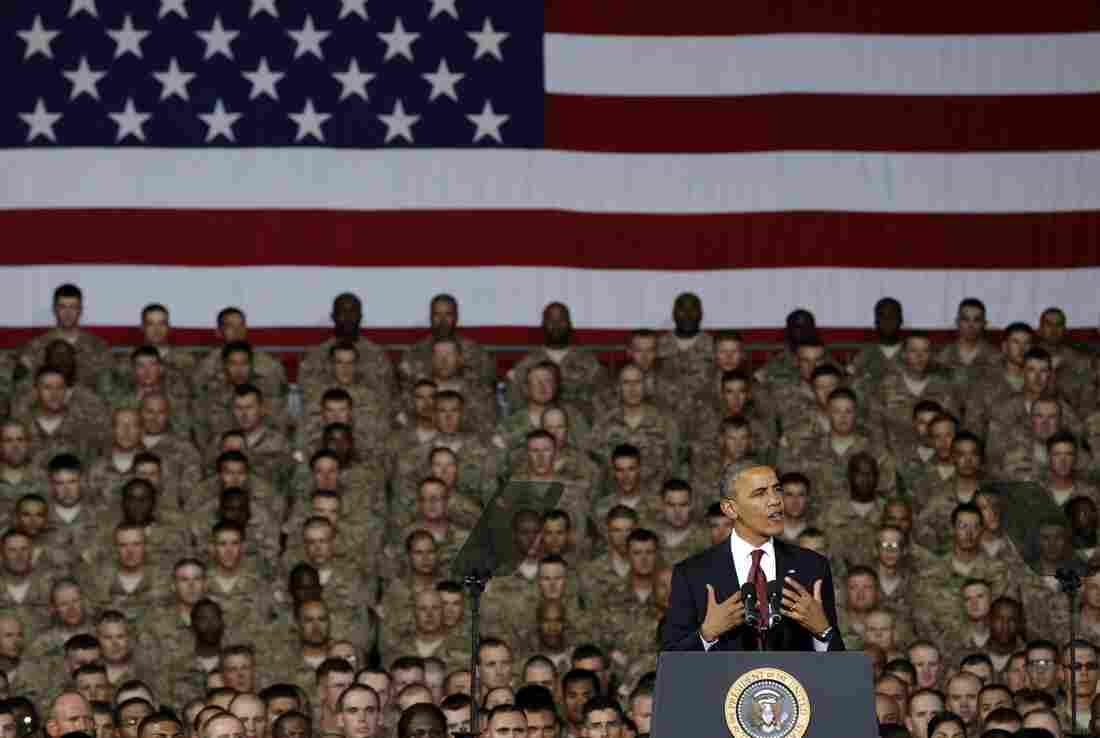 Obama makes farewell call to Afghan leaders