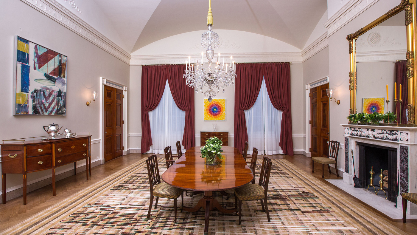 oval office paintings. Oval Office Paintings