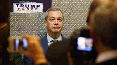 Trump's Kindred Spirit, UK's Nigel Farage, Will Be An Honored Guest Friday