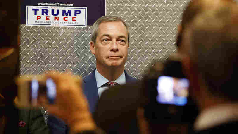 Trump's Kindred Spirit, U.K.'s Nigel Farage, Will Be An Honored Guest Friday