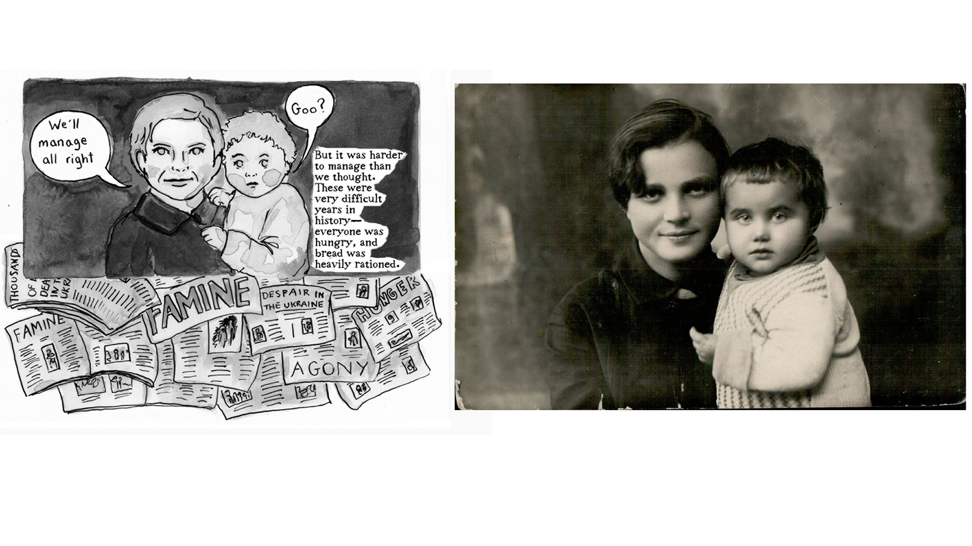 'Soviet Daughter': How A Great-Grandmother's Diary Became A Graphic Novel