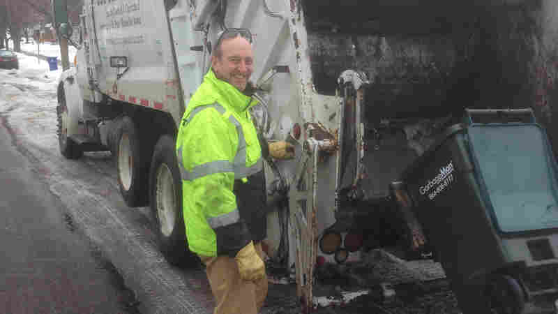 For A Garbage Man In Minnesota, 'Trash Tells A Story'
