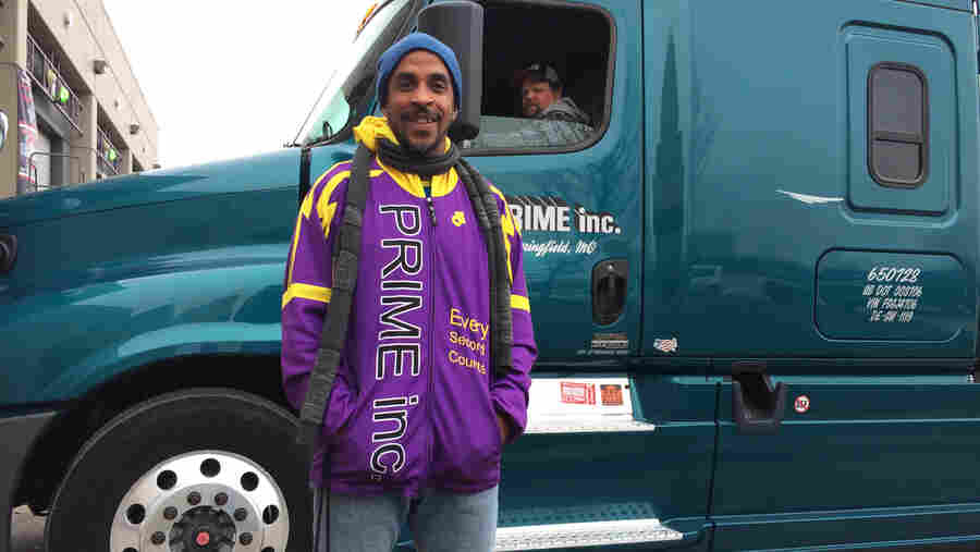 Athlete-Turned-Trucker Works To Improve Truckers' Health