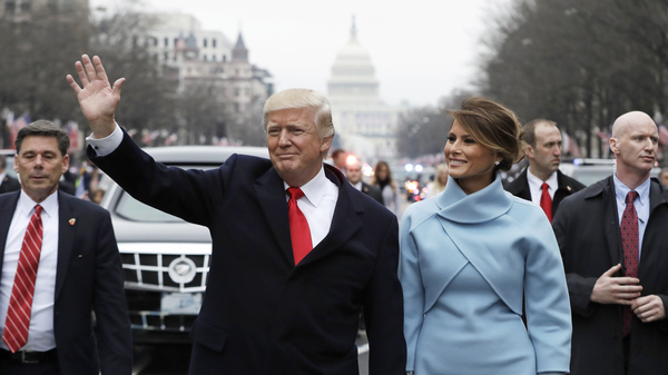 In Inaugural Address, Trump Decries 'Carnage' And Promises 'America First'