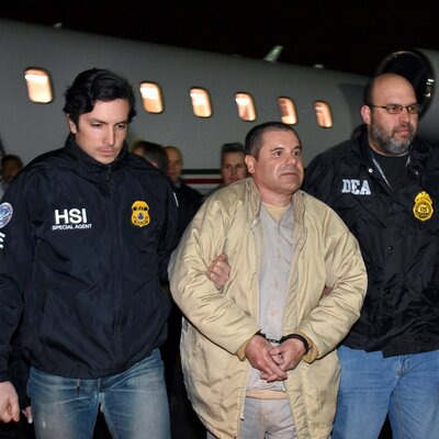 Notorious Drug Lord 'El Chapo' Pleads Not Guilty To Federal Charges