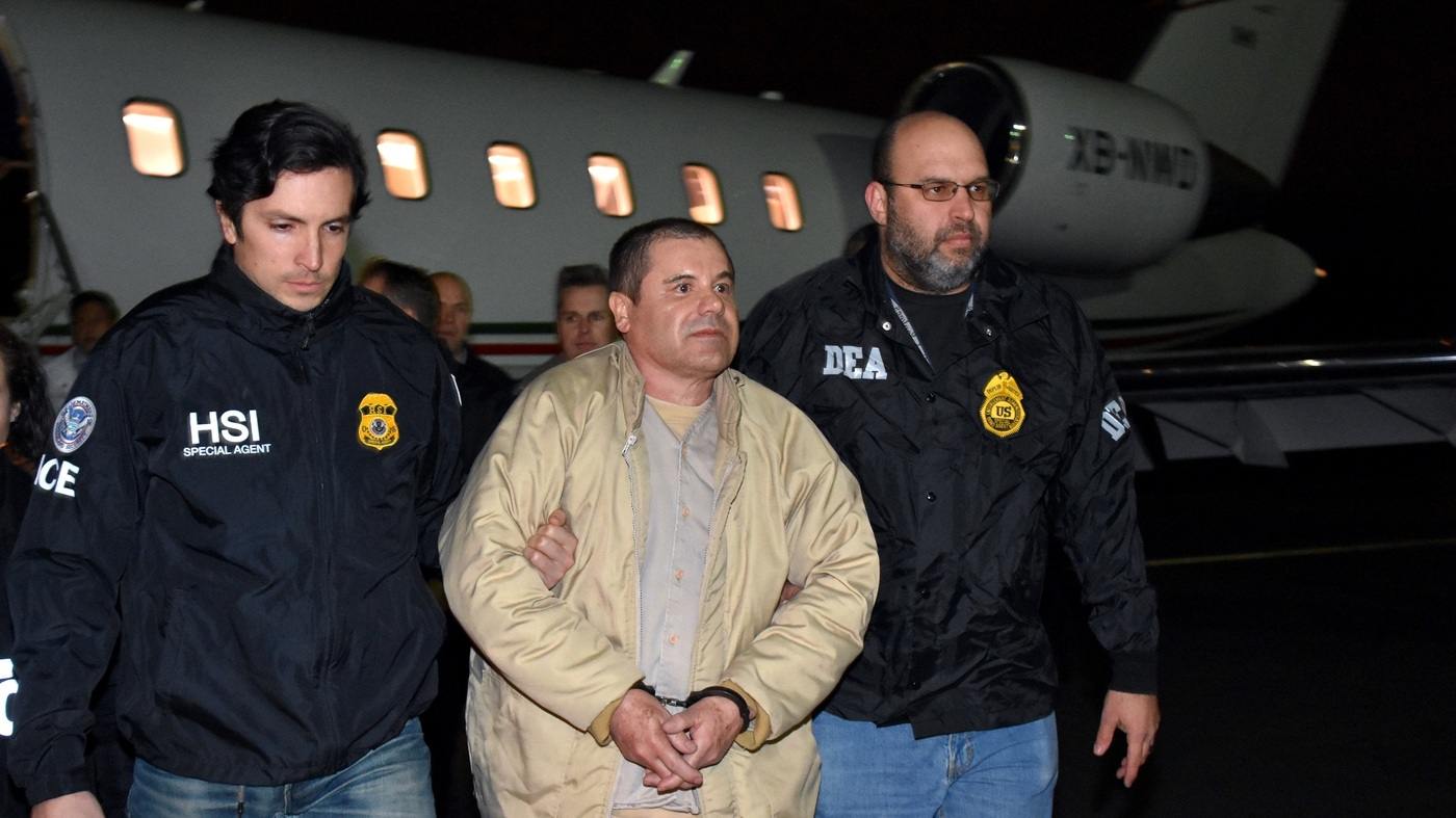 Notorious Drug Lord 'El Chapo' Pleads Not Guilty To Federal Charges : The Two-Way : NPR