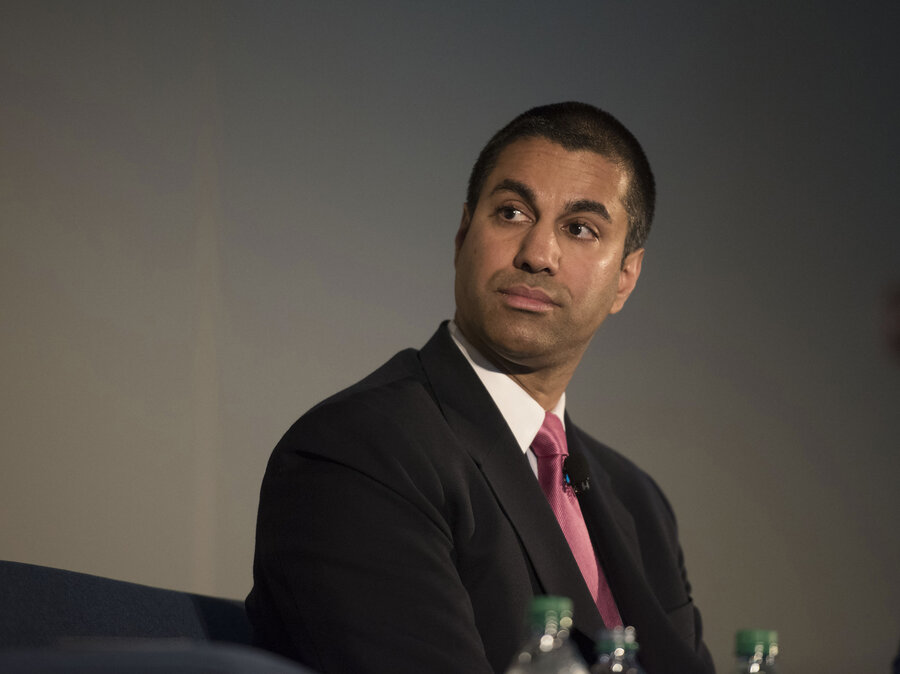 Image result for Federal Communications Commissioner Ajit Pai