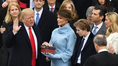 Trump sworn in as president; pledges America-first policy