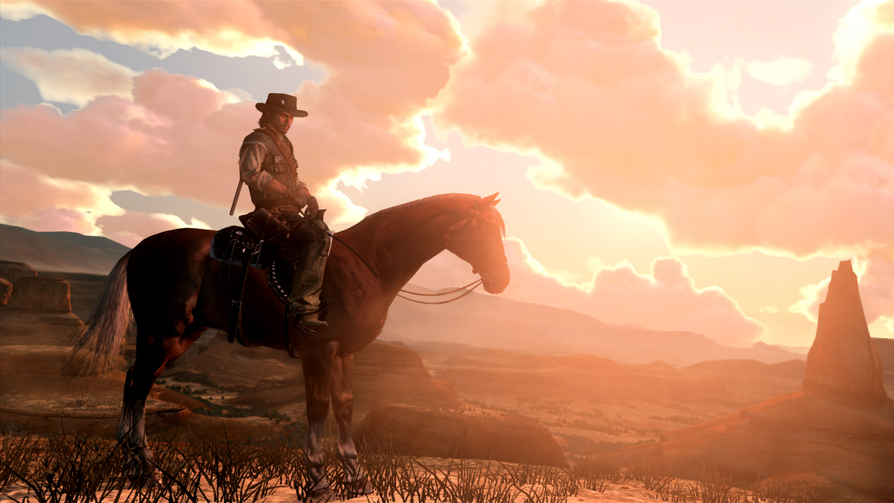 Reading The Game Red Dead Redemption All Tech Considered Npr