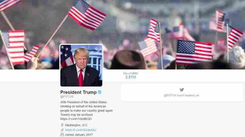 On The Day Of White House Transitions, Twitter Shifts @POTUS To Donald Trump