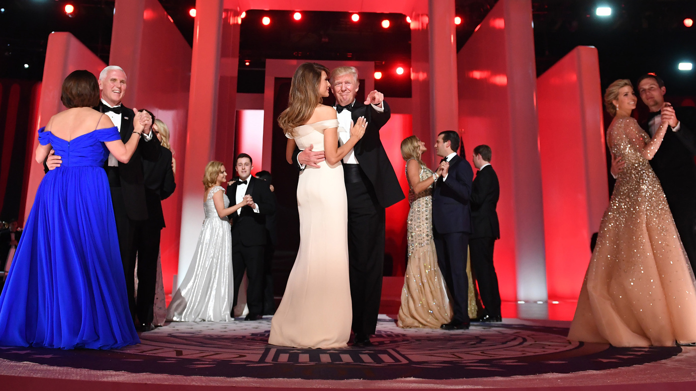 Car Talk Podcast >> PHOTOS: Trump Ends Inauguration Day His Way, With Dances ...