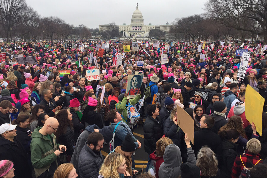 Women's March on Washington January 21, 2017