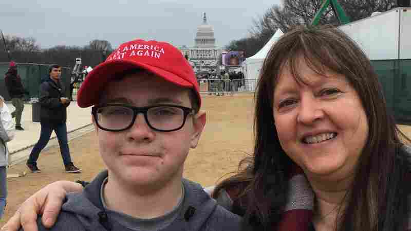 There Were Hopes And Dreams Aplenty At Trump's Inauguration, But Whose?