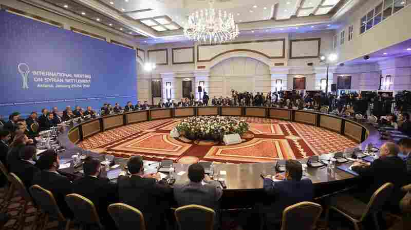 Cease-Fire Talks Between Syria And Opposition Begin In Kazakhstan