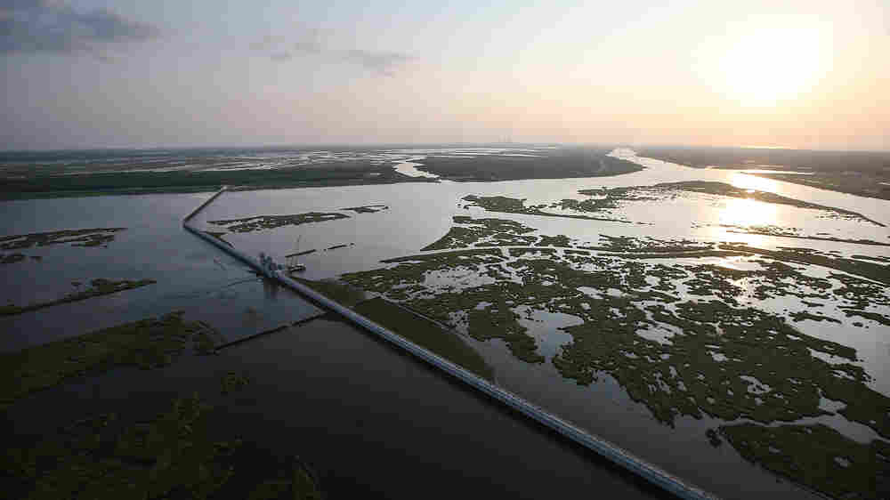 To Fight Coastal Damage, Louisiana Parishes Pushed To Sue Energy Industry