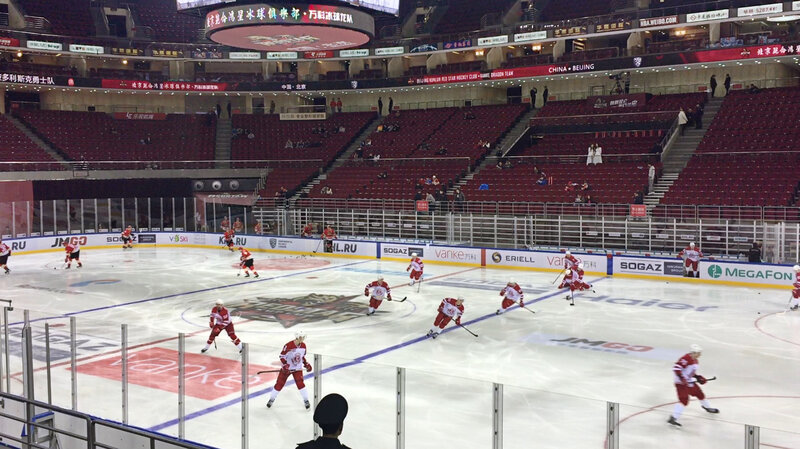 Chinese Fans Are Slow To Warm Up To Ice Hockey Parallels Npr