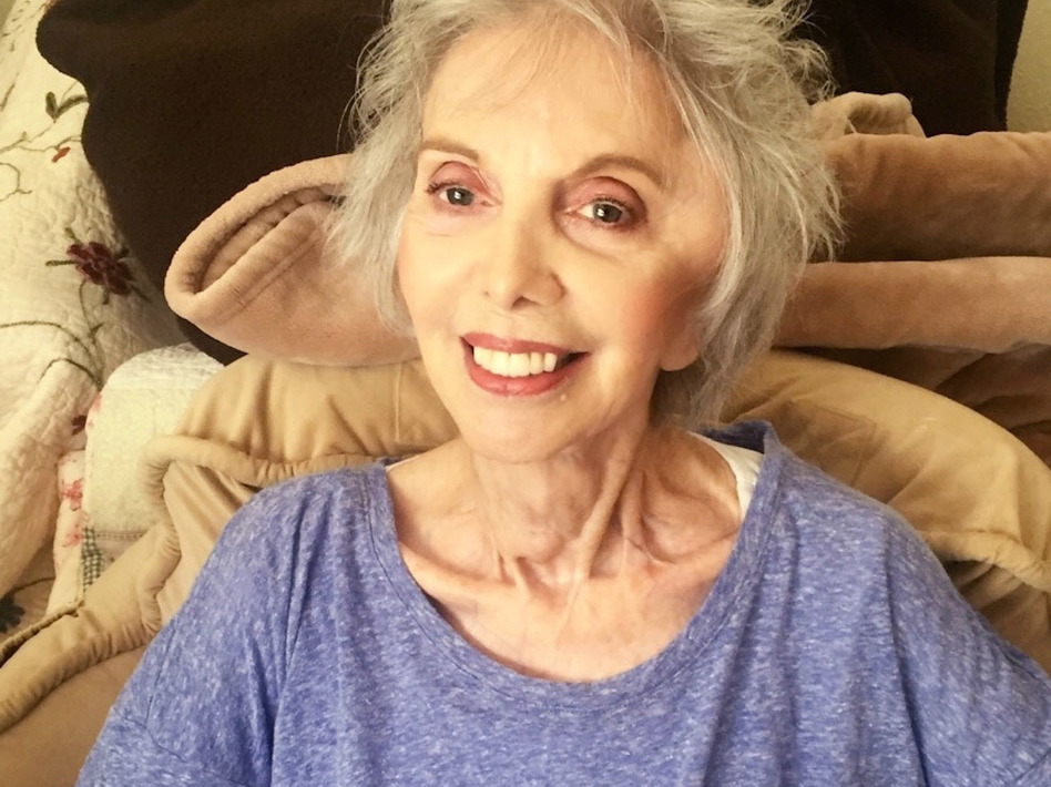 Annette Schiller of Palm Desert, Calif., who was 94 and diagnosed with terminal thyroid and breast cancer, had trouble finding doctors to help her end her life under California's new aid-in-dying law. (Tana Yurivilca/Courtesy of Linda Fitzgerald)