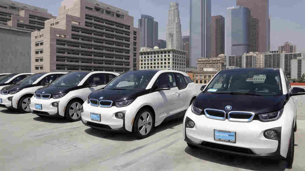 California Eyes Climate Leadership Role, But Trump's EPA Holds A Key On Cars