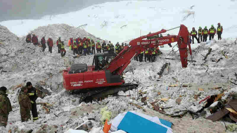 Italy Avalanche Death Toll Reaches 15 As Prospects Of Finding More Survivors Dim